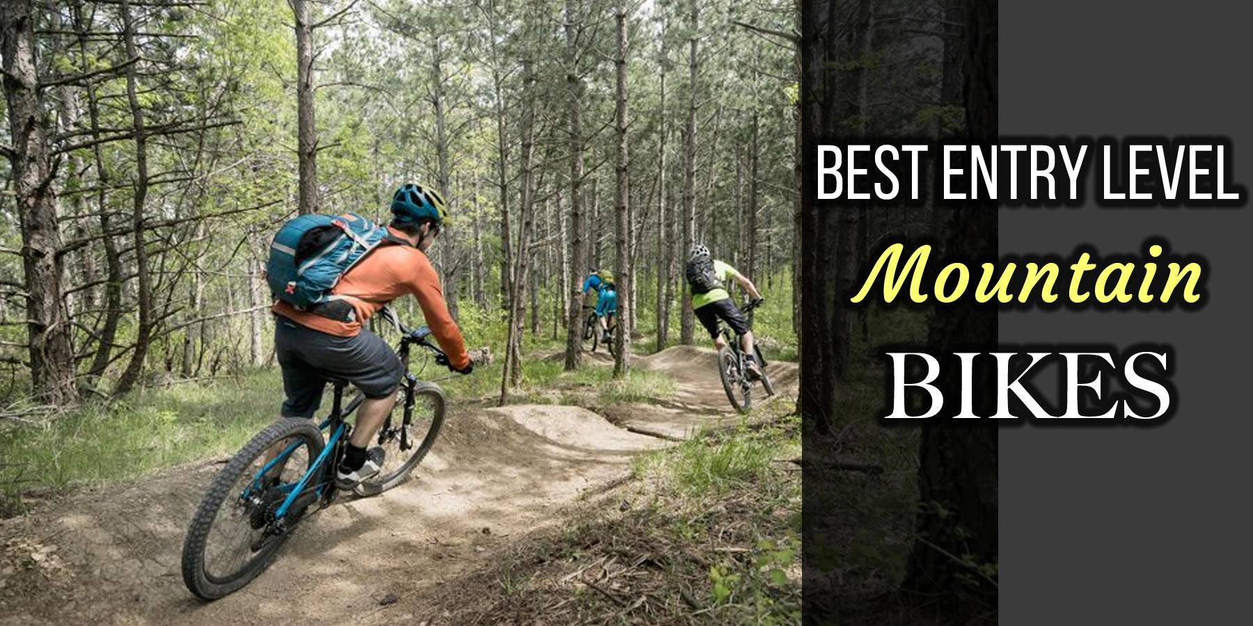 Best Entry Level Mountain Bikes In 2018 Top Models Compared