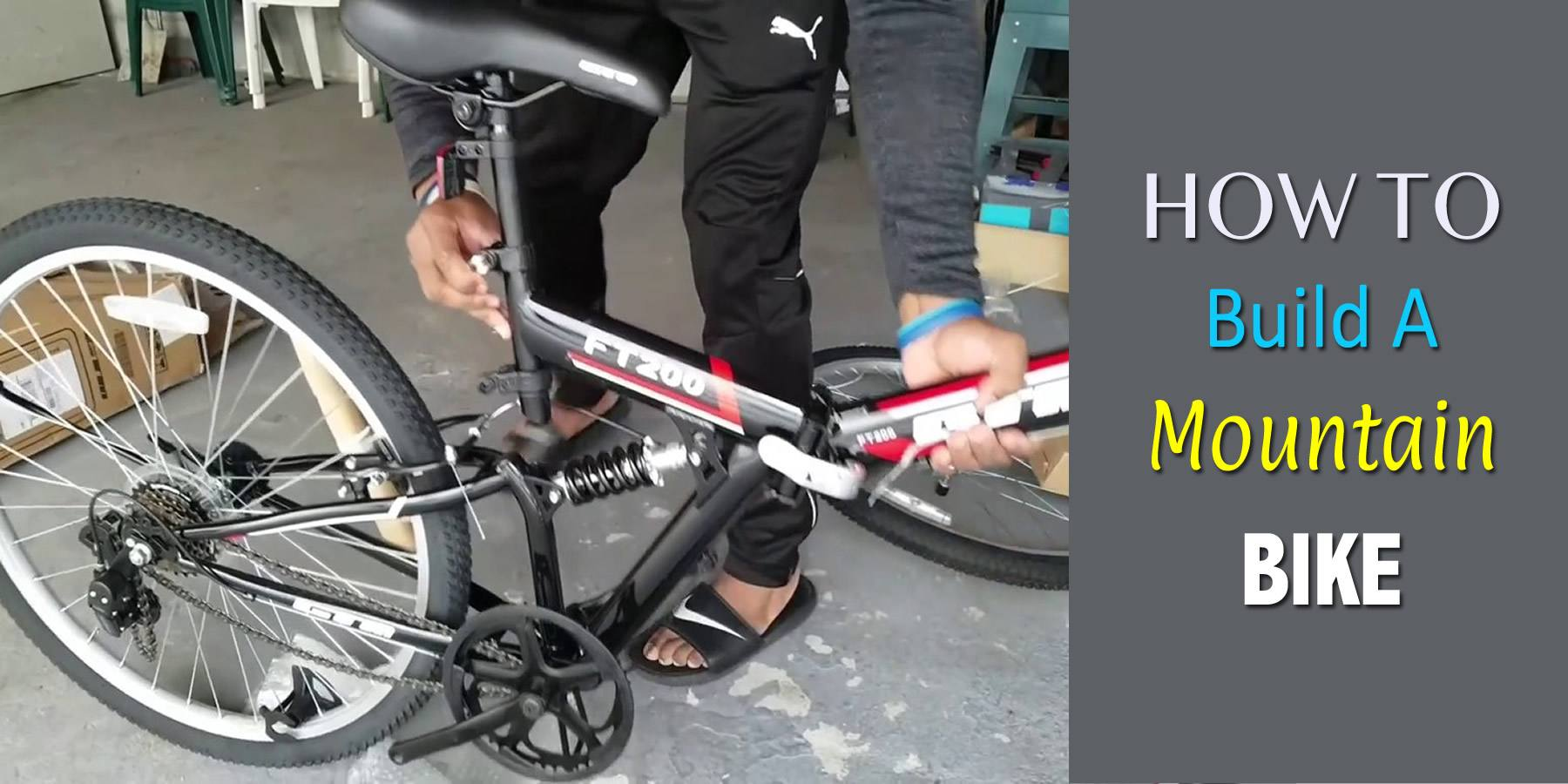 How To Build A Mountain Bike – Step By Step Guide By Expert!