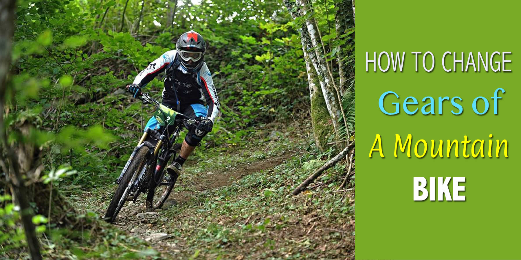 How To Change Gears Of A Mountain Bike