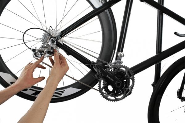 Mountain Bike - Rear derailleur adjustment