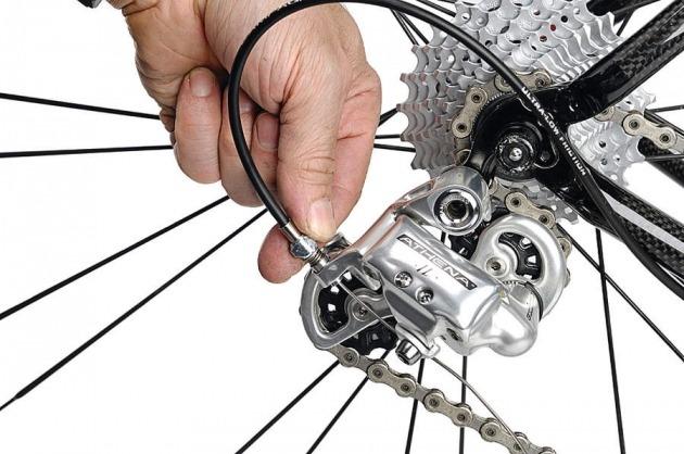 Shifting Bike Rear Gear