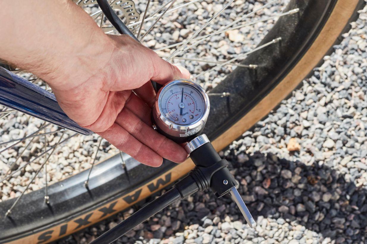 Check Bike Tire Pressure