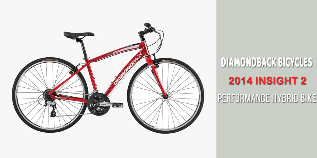 Diamondback Bicycles 2014 Insight 2 Performance Hybrid Bike