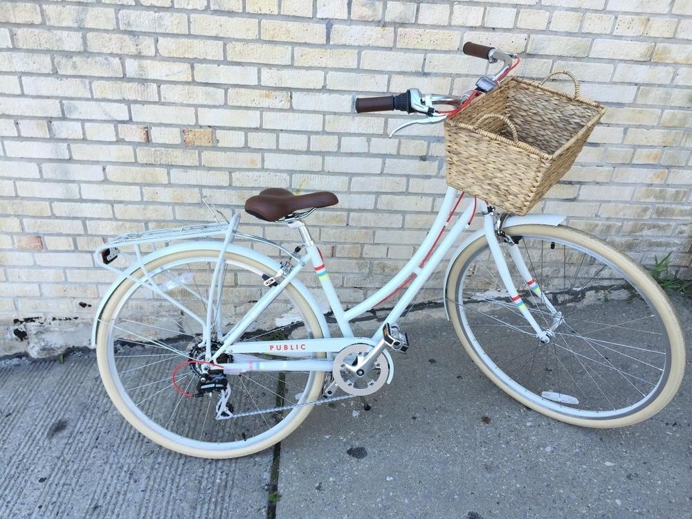 Hybrid bike basket