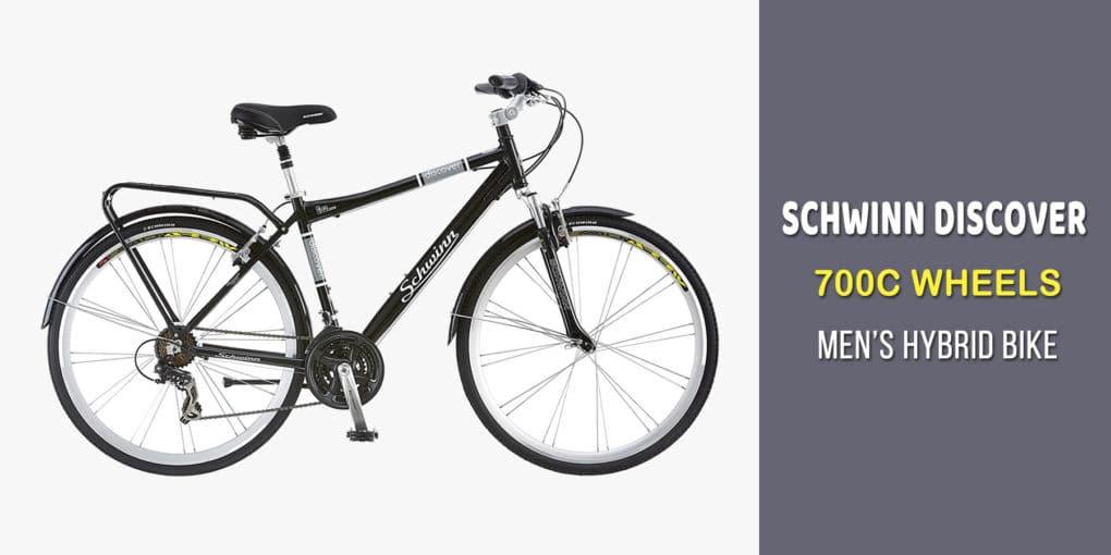 4dbc6297a0c Schwinn Discover 700C Wheels Men's Hybrid Bike Review