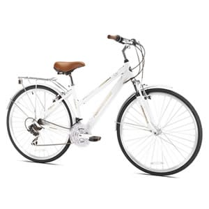 Details Of Northwoods Ladies Crosstown 21 Speed Hybrid Bicycle