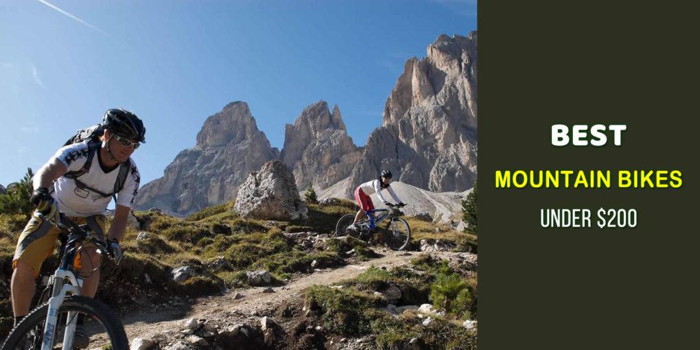 best mountain bikes under 200