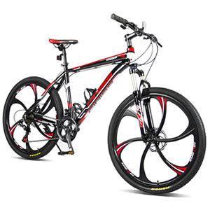 "Merax Finiss 26"" Magnesium Wheel Mountain Bike"
