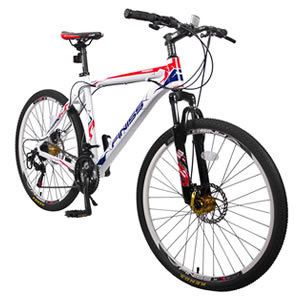 "Merax Finiss 26"" Mountain Bike with Disc Brakes"