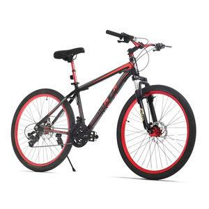 """URSTAR 26"""" Mountain Bike with Front and Rear Disc Brakes"""