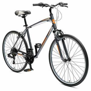 Critical Cycles Men's Barron Hybrid Bike
