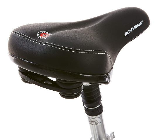 Schwinn discover women's hybrid bike seat