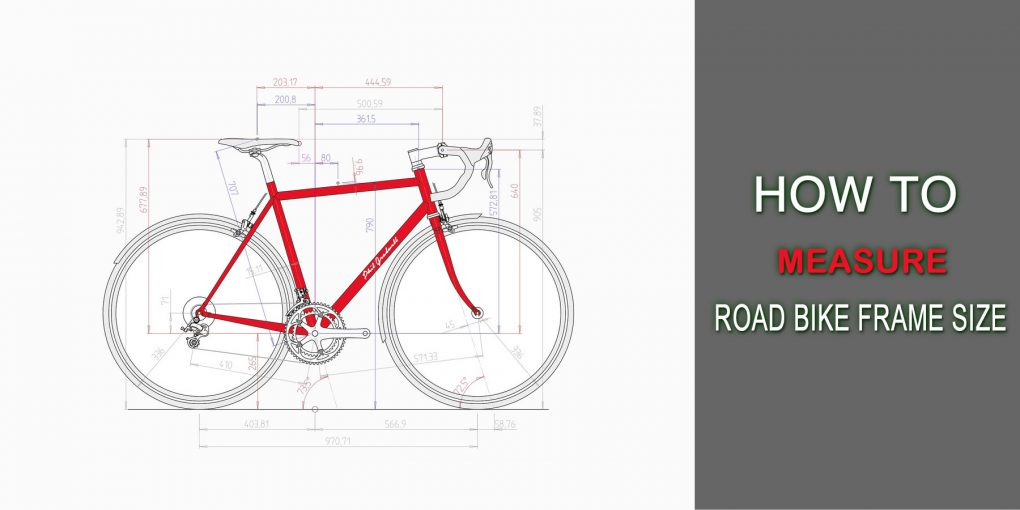 How To Measure Road Bike Frame Size