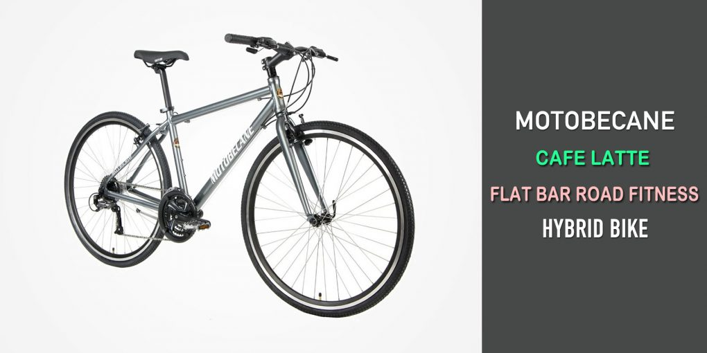 Motobecane Cafe Latte Flat Bar Road Fitness Hybrid Bike Review