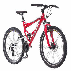 Schwinn Protocol 1.0 Men's Dual-Suspension Mountain Bike Details