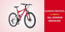 Schwinn Protocol 1.0 Men's Dual-Suspension Mountain Bike Review
