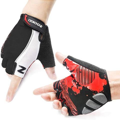 ZOOKKI Cycling Gloves Mountain Bike Gloves Road Racing Bicycle Gloves