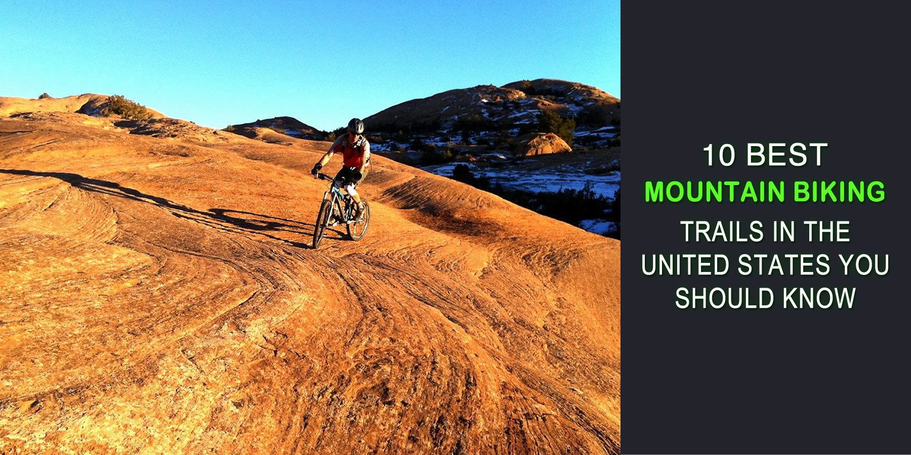 10 Best Mountain Biking Trails in the United States You Should Know