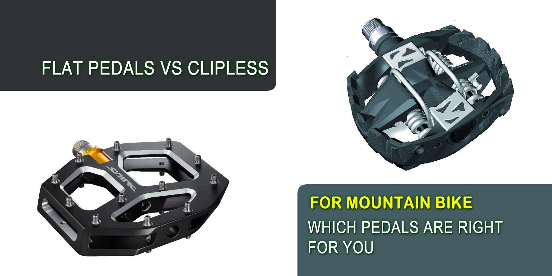 Flat Pedals vs Clipless For Mountain Bike