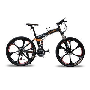 DETAILS OF CYRUSHER FR100 FOLDING MOUNTAIN BIKE