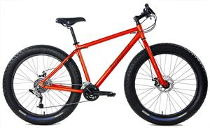 Aluminum Fat Bikes with Powerful Disc Brakes Gravity Monster Mens Fat Tire Bicycle