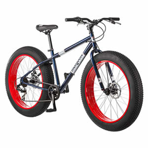 DETAILS OF MONGOOSE DOLOMITE FAT TIRE MOUNTAIN BIKE REVIEW