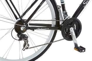 Schwinn Discover 700C Wheels Men's Hybrid Bike Back Tire With Paddle