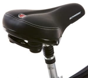 Schwinn Discover 700C Wheels Men's Hybrid Bike Comfortable Saddle