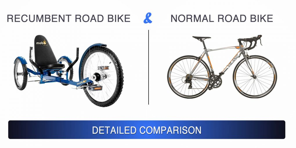 Recumbent Road Bikes & Normal Road Bikes – Detailed Comparison