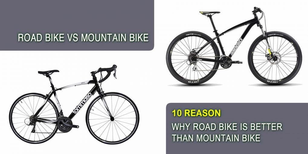 Road Bike vs Mountain Bike-10 Reason Why Road Bike Is Better Than Mountain Bike
