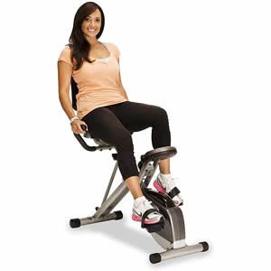EXERPEUTIC 300SR Heavy Duty Foldable Recumbent Bike Review