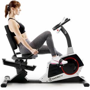 Marcy Regenerating Recumbent Exercise Bike ME-706