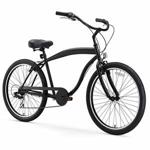sixthreezero Men's In The Barrel Beach Cruiser Bicycle