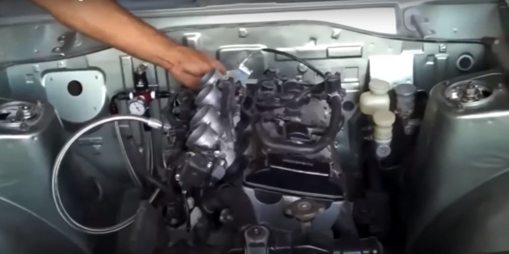 How To Build A Biked Engine Car