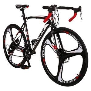 OBK XC550 Road Bike 700C Wheels 21 Speed Disc Brake Mens or Womens Bicycle